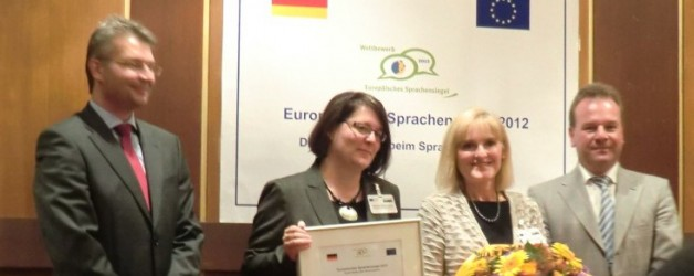 """The project """"L-Pack"""" was awarded with the European Language Label 2012!"""